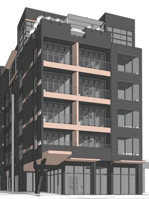 Modular construction proposed for latest Mt Pleasant condominiums