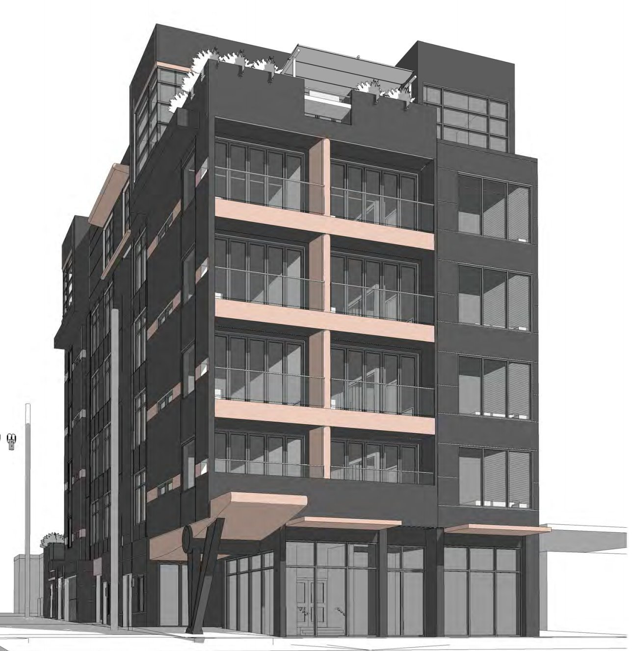 138 East 8th Avenue rendering street
