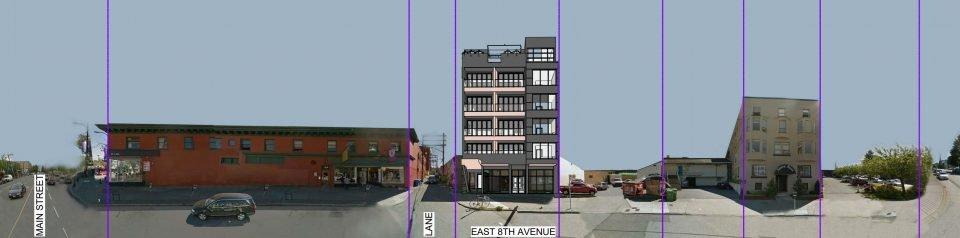 138 East 8th Avenue streetscape