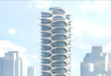 1668-1684 Alberni Street tower rendering
