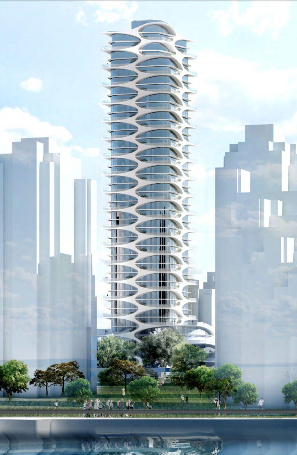 Westbank plans 39-storey Bing Thom tower for 1600-block Alberni