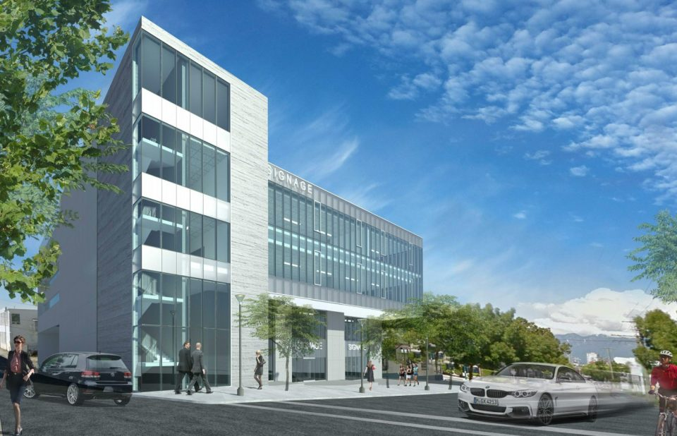 New Mount Pleasant office building