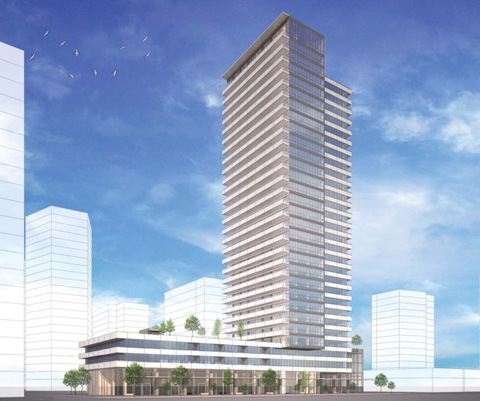 30-storey tower proposed for Uptown New Westminster