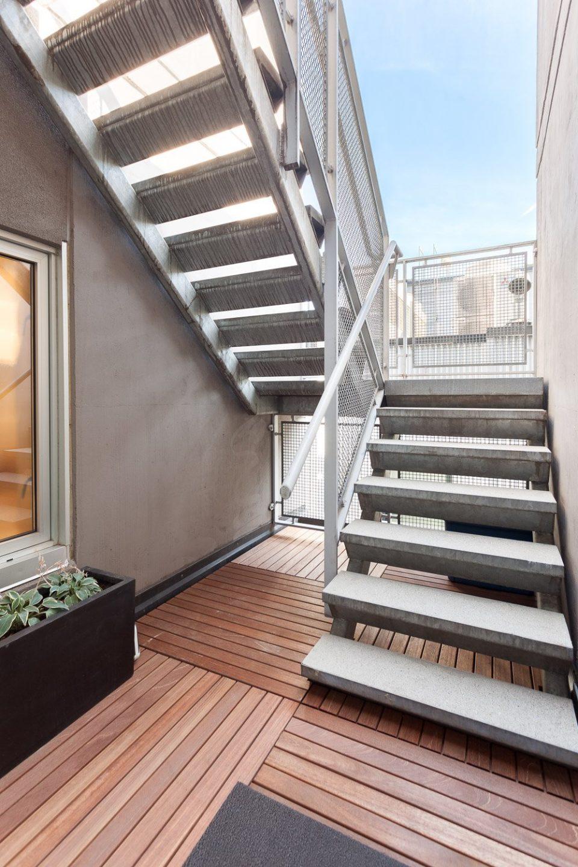 701-36 Water Street Terminus stairs