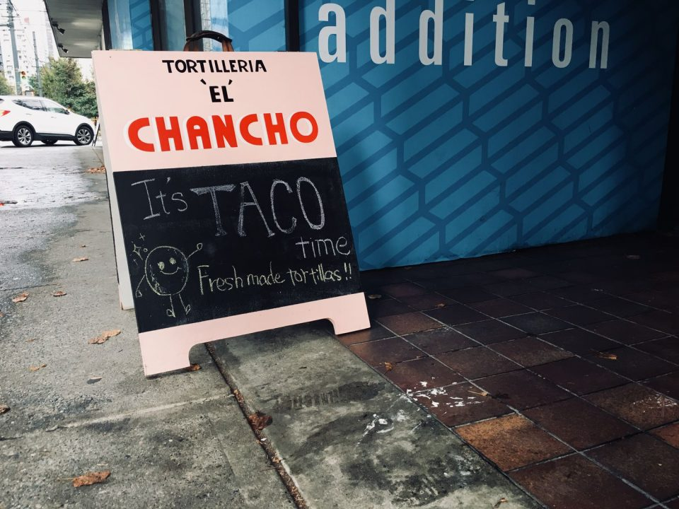 Chancho Tortilleria Vancouver