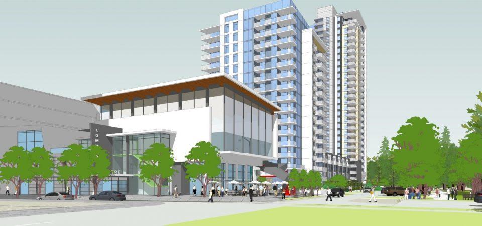 1401 Hunter development rendering