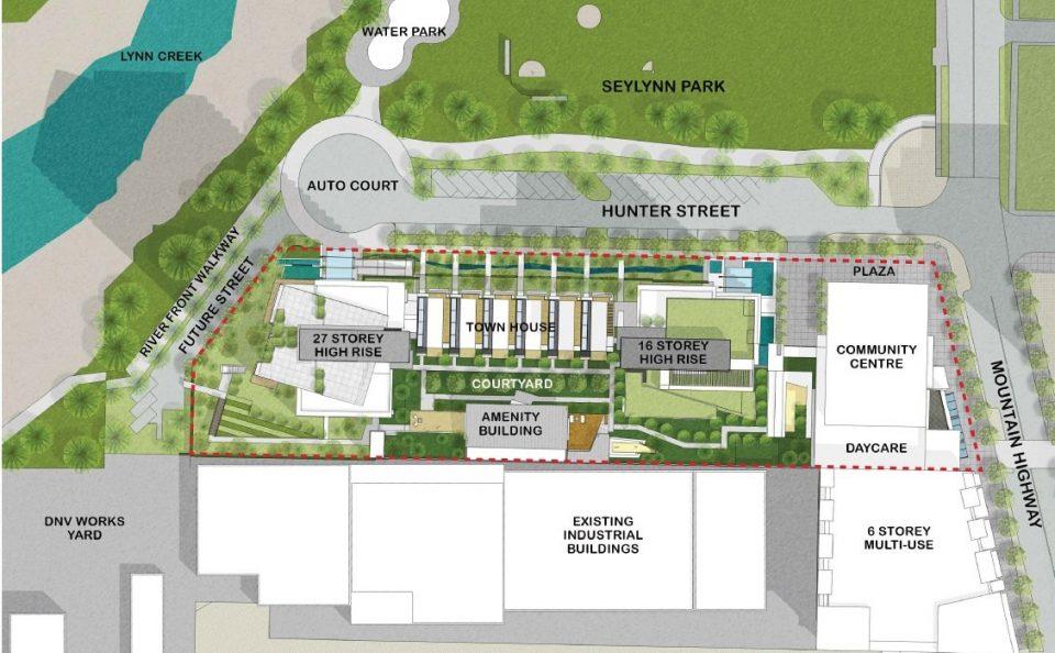 1401 Hunter development plan