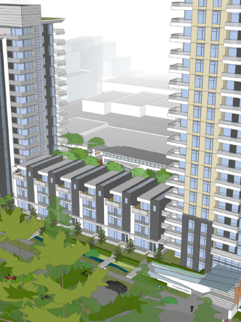 Intergulf plans two-tower project in District of North Vancouver