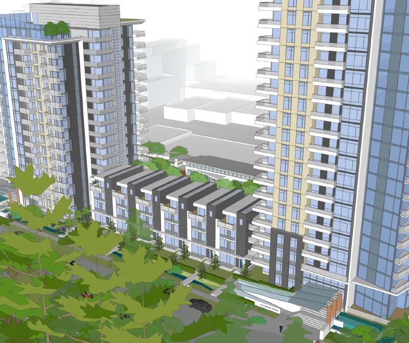 1401 Hunter tower renderings