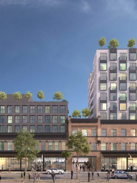 Dramatically reworked proposal for 33 West Cordova in Gastown