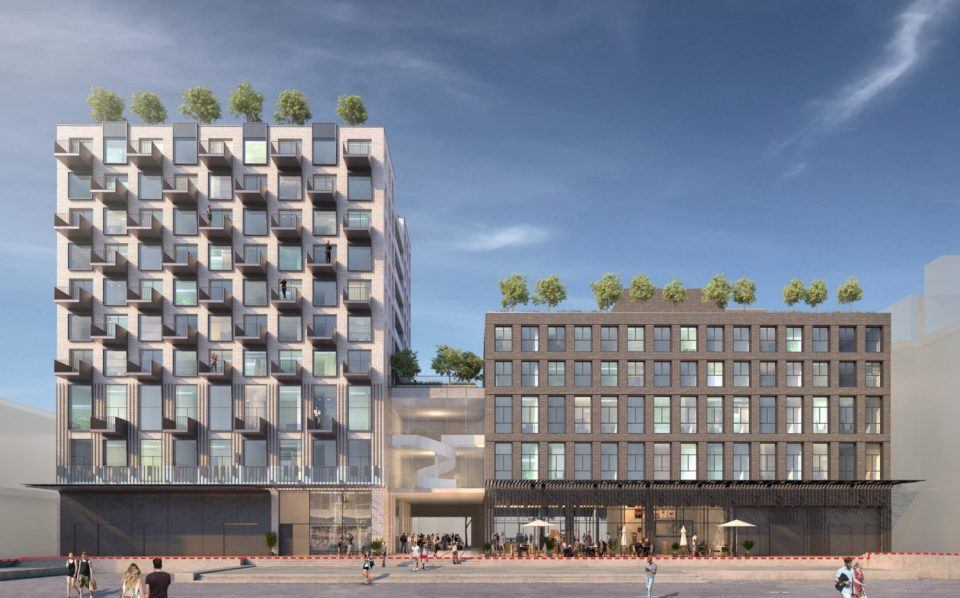 33 West Cordova revised proposal Blood Alley
