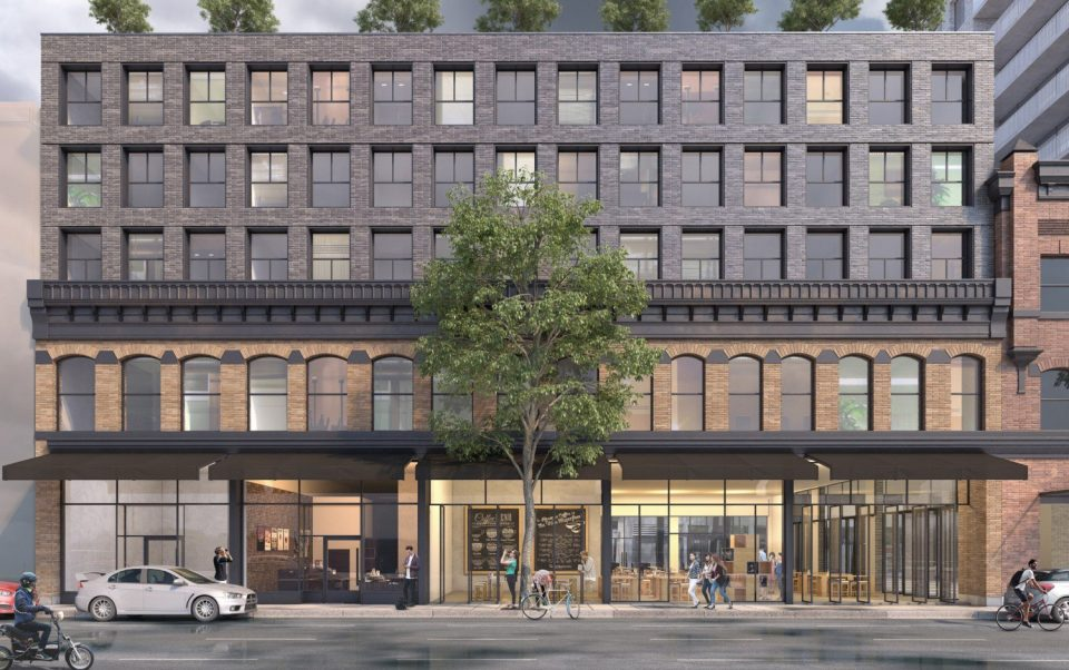 33 West Cordova revised proposal Cordova Street