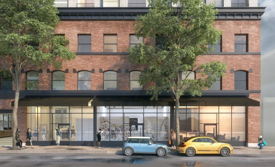 33 West Cordova revised proposal retail