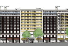 58 West Hastings Social Housing building drawing