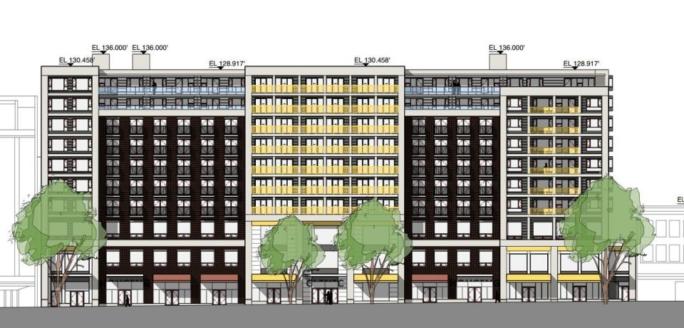 10-storey social housing and medical office proposed for Downtown Eastside