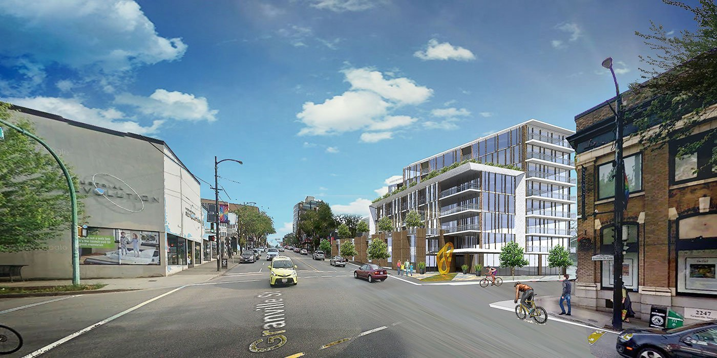 First look at upcoming project at Granville and West 7th Avenue