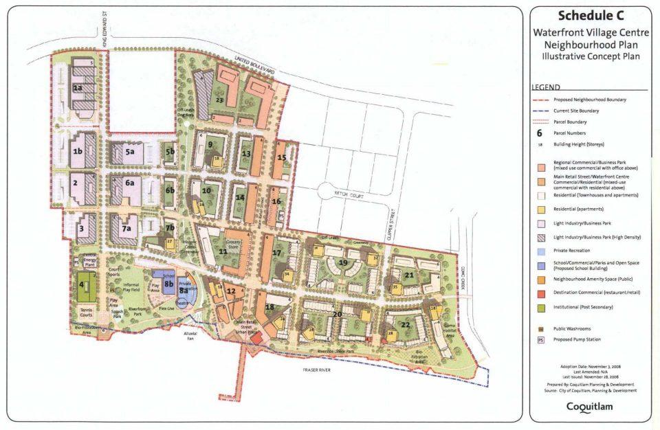 Beedie Fraser Mills Coquitlam neighbourhood plan