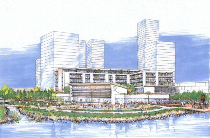Beedie Fraser Mills Coquitlam waterfront rendering