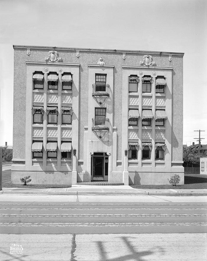 Building History Santa Fe apartments