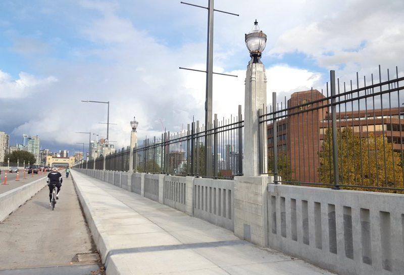 Burrard Bridge lights