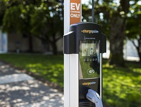 City of Vancouver Electric Vehicle Charging Stations