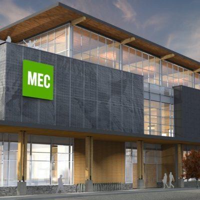 MEC Flagship Vancouver Olympic Village 2019