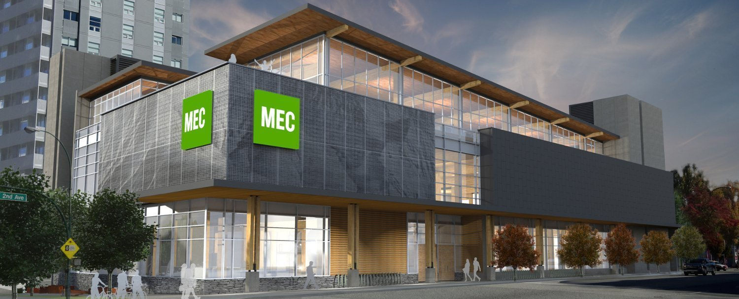 MEC Flagship Vancouver Olympic Village 2019