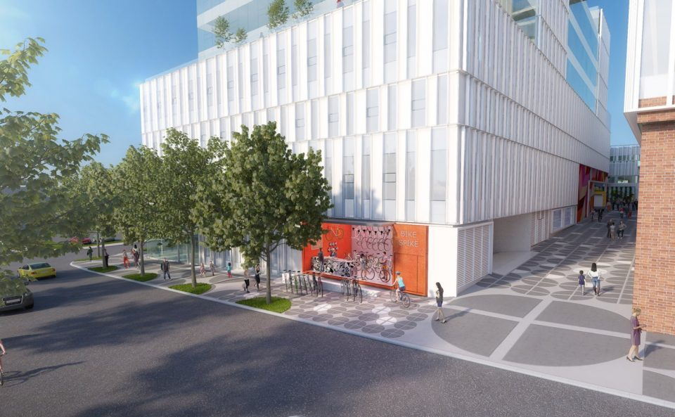 Henriquez Partners Architects Westbank 102 East 4th Ave. Hootsuite rendering