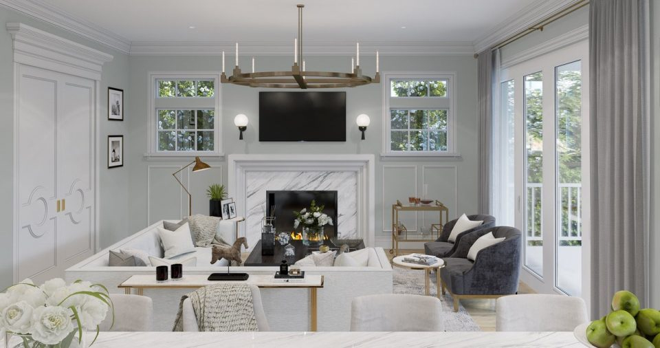 McCleery and Magee Southlands living room