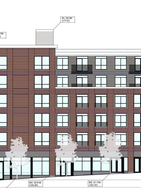 Rental apartments proposed for site of East Hastings Dairy Queen