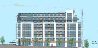 Mount Pleasant VAHA social housing rendering