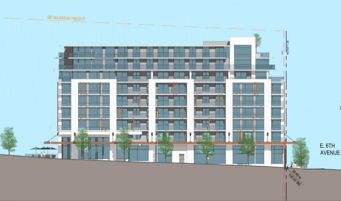 Mount Pleasant VAHA social housing rendering