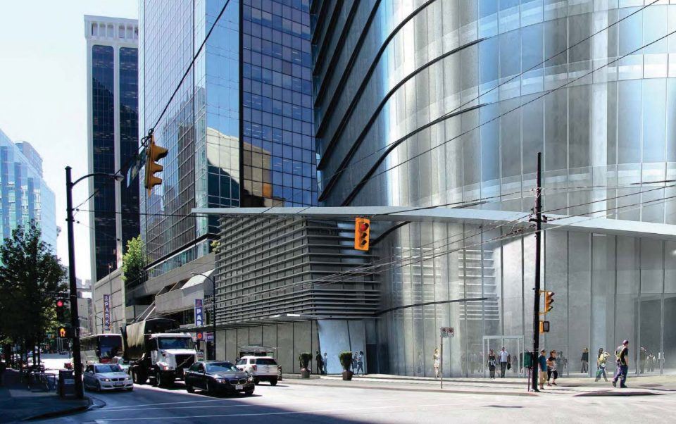 Plans for 33-storey office tower on West Pender moving forward