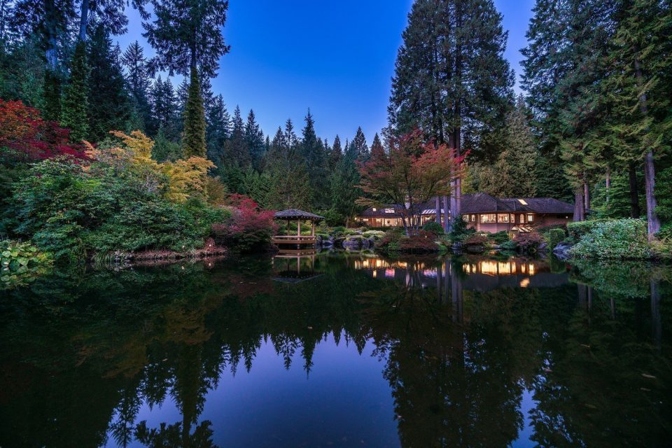 Japanese-inspired $36.2 million North Vancouver estate for sale