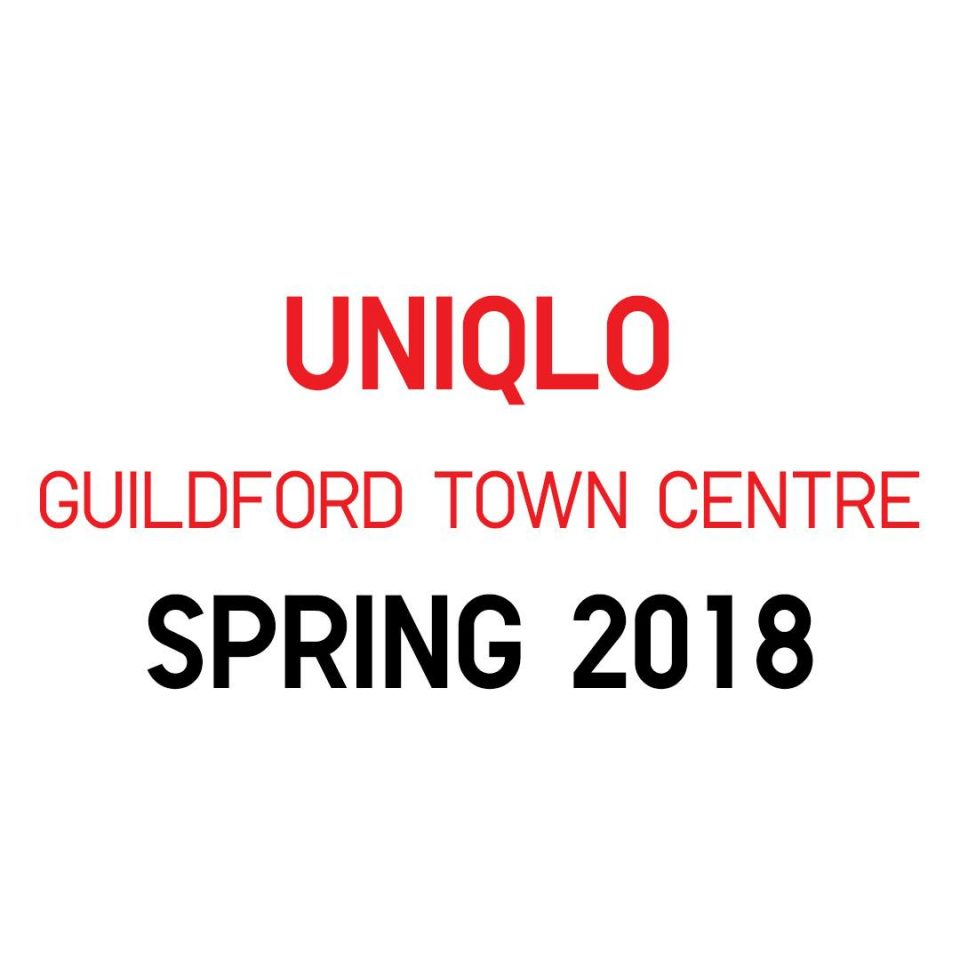 Uniqlo Guildford Town Centre Surrey