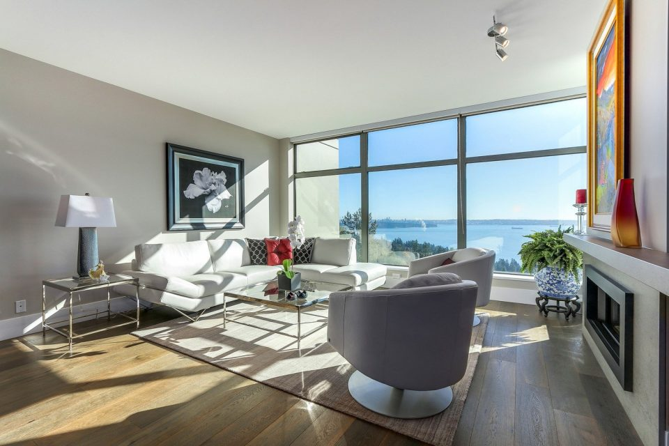503 3315 CYPRESS PLACE West Vancouver living room views