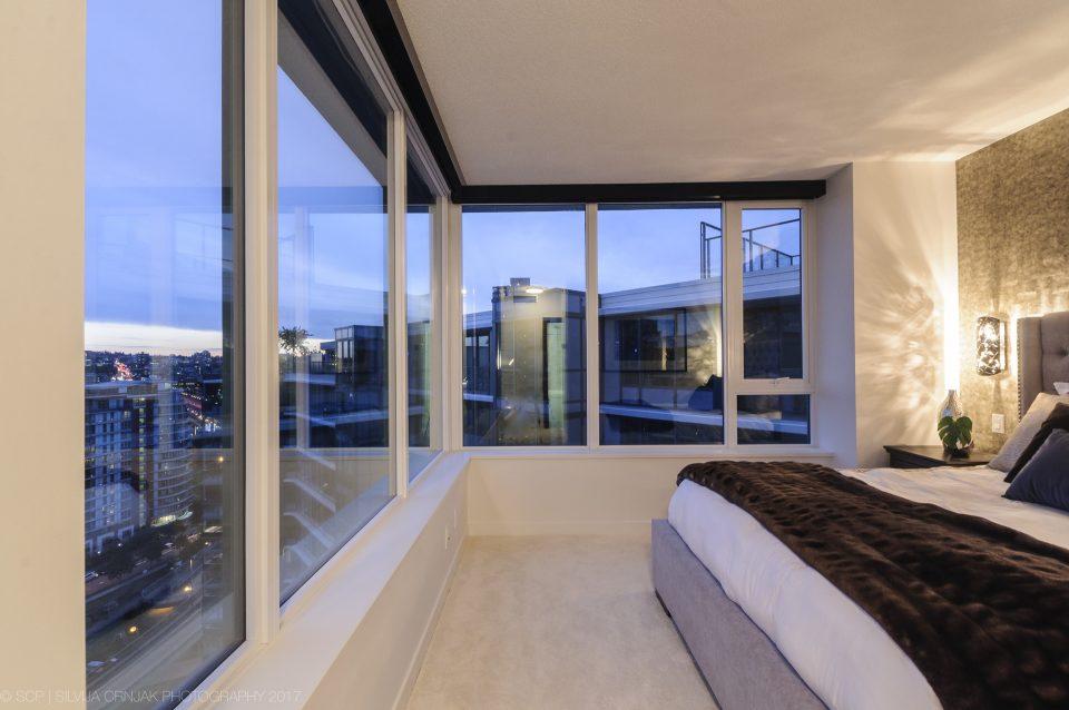 68 Smithe Street master bedroom