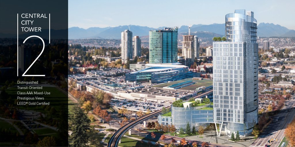 Central City Tower 2 announced at Invest Surrey