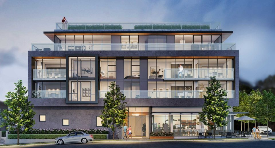 Heather + West 17th luxury condominiums on Vancouver's west side