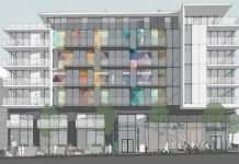 Main Street Arts PortLiving north elevation
