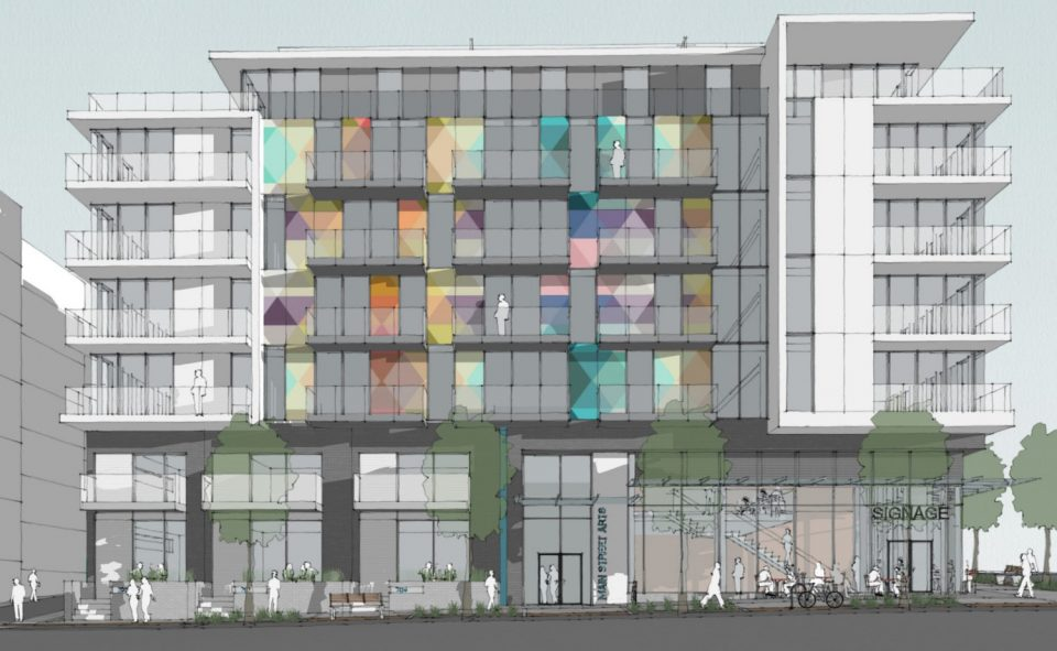 PortLiving proposes Main Street Arts condos at Main and East 6th