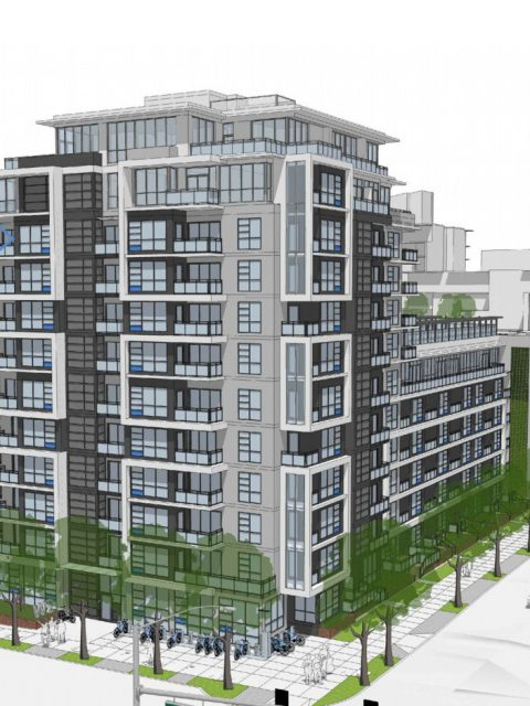 12-storey Olympic Station condominiums coming to West 2nd Ave.