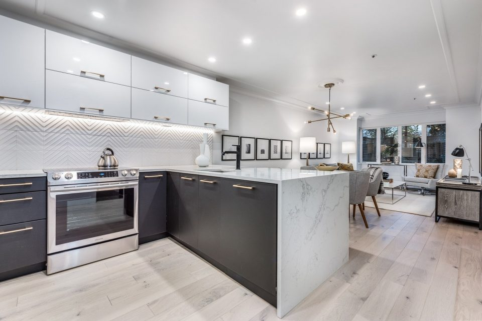 Commercial Drive condo transformed into modern living space