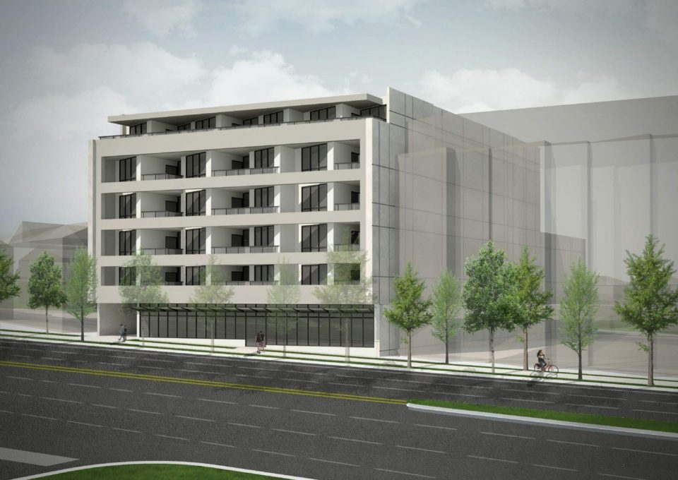 Rental apartment building proposed for 3070 Kingsway