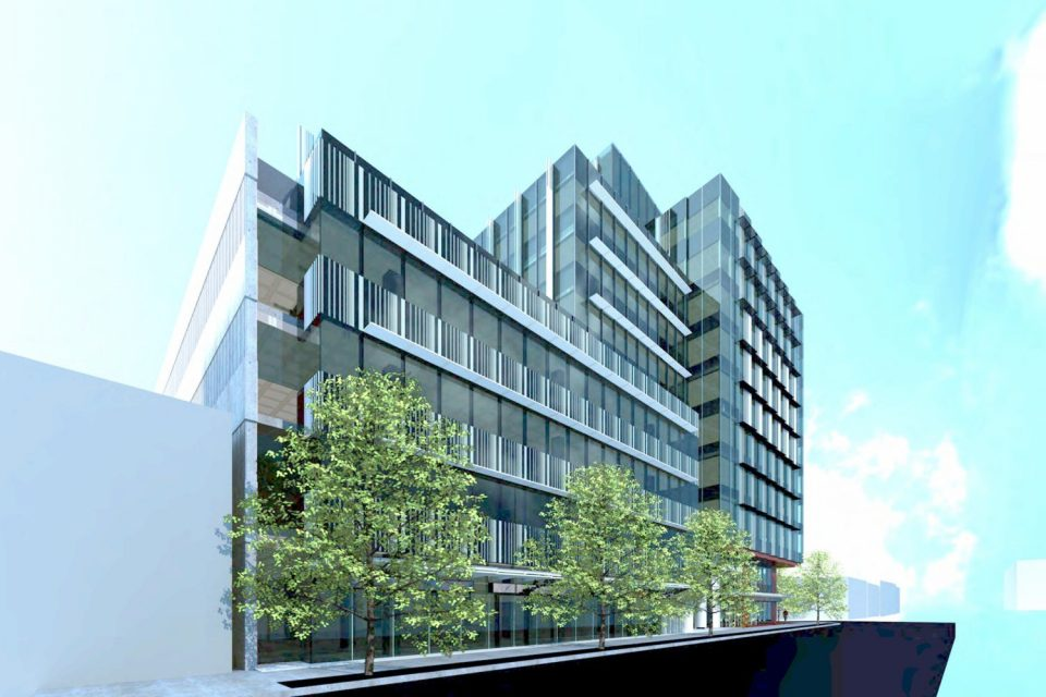 10-storey office building proposed for Yukon and West 6th