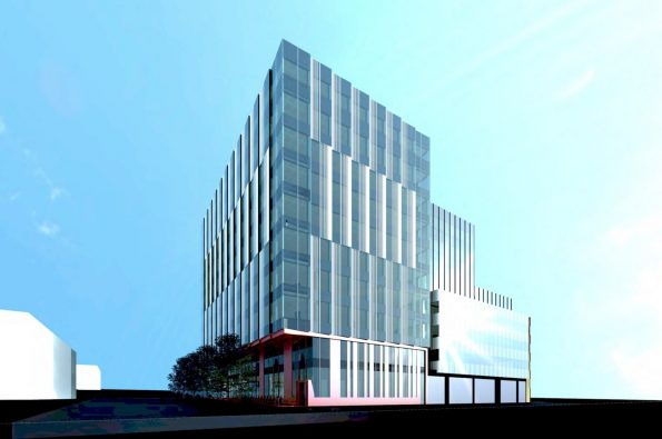 425 West 6th Avenue building rendering