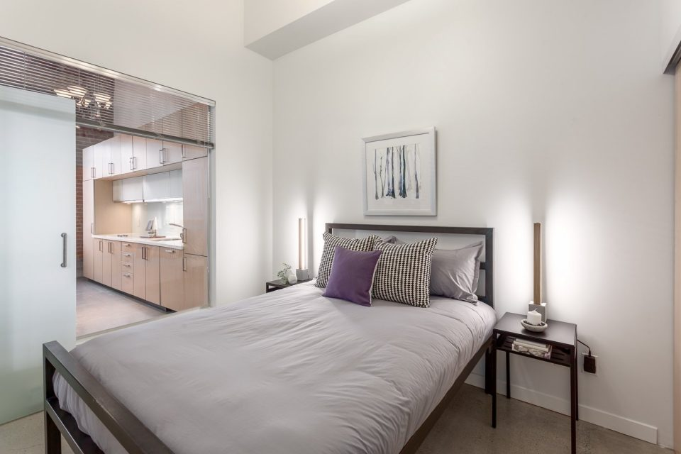 504-546 Beatty Street Vancouver bedroom