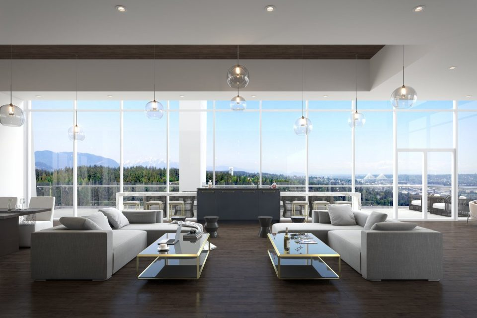 Penthouse amenity room