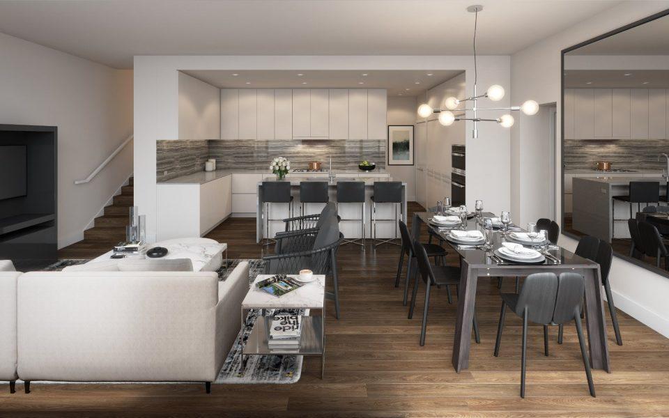 Hensley by Cressey Burquitlam renderings kitchen