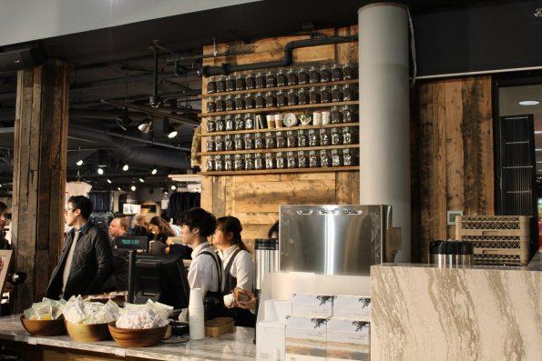 Ethical Bean coffee bar